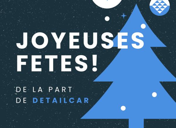 DetailCar vous souhaite de joyeuses fêtes